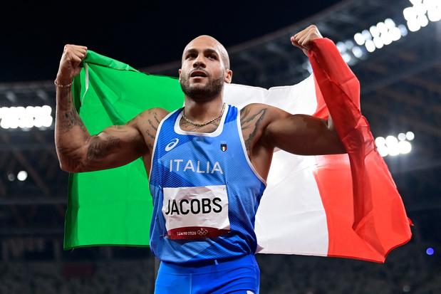 Sensation: l'Italien Marcell Jacobs s'offre la médaille d'or sur 100m