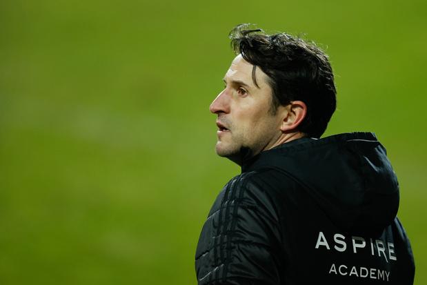 KAS Eupen neemt afscheid van coach Beñat San José