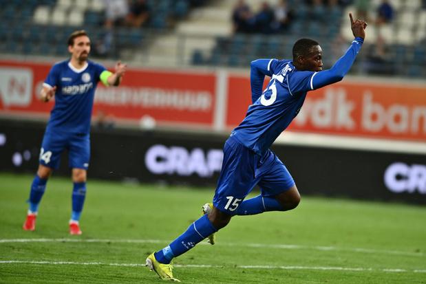 Conference League: Gent sleept gelijkspel uit de brand, Anderlecht wint makkelijk in Albanië