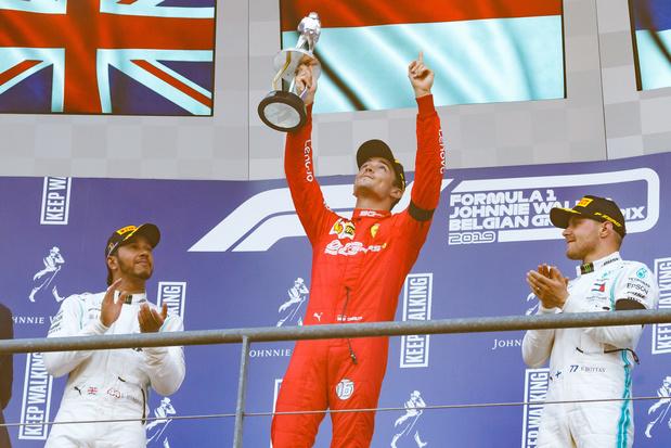 Quiz du jour: les podiums du GP de Belgique de F1