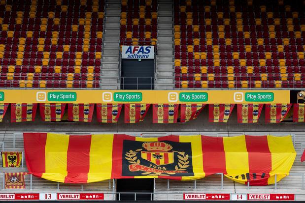 Malines autorise la présence de 5.200 supporters dans son stade