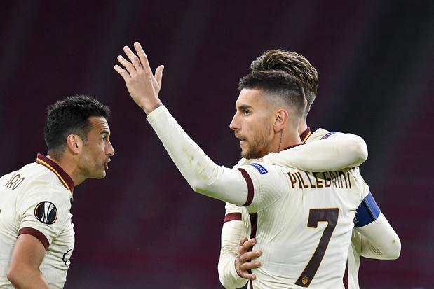 AS Roma haalt in het slot zege binnen op bezoek bij Ajax