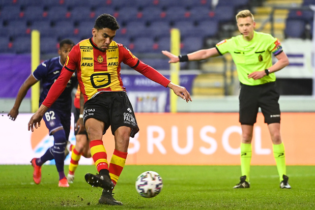 Anderlecht speelt gelijk tegen KV Mechelen na twee strafschoppen