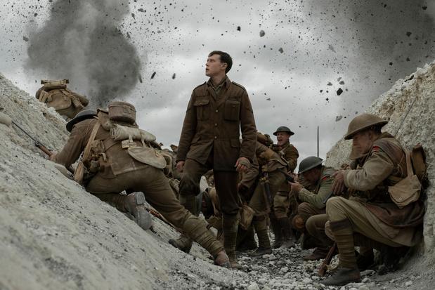 Le grand prix de l'Union de la presse cinématographique belge décerné à 1917 de Sam Mendes