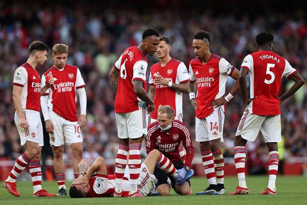 Goed nieuws voor Sambi Lokonga? Concurrent bij Arsenal drie maanden out