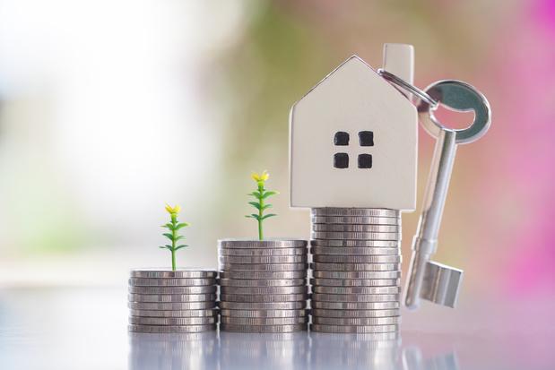 Les prix médians de tous les logements en hausse en Belgique