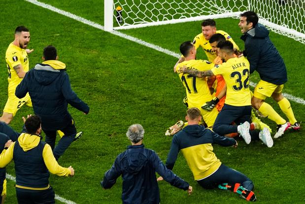 Villarreal remporte l'Europa League