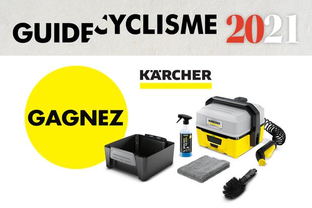 GAGNEZ un nettoyeur haute pression OC3 Mobile de Kärcher - Bike Box incluse