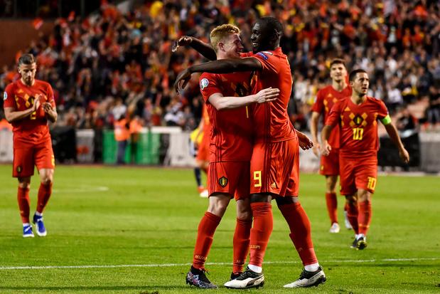 La Belgique vient à bout de l'Ecosse et poursuit son sans-faute en qualifications
