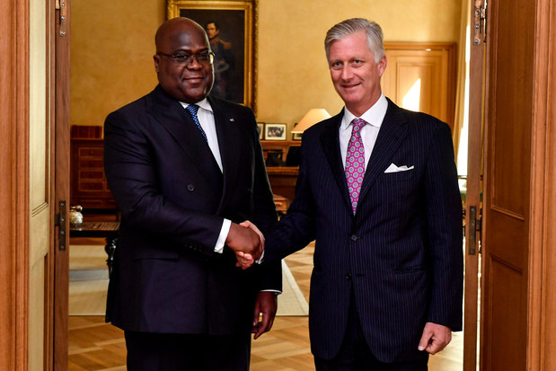 Koning Filip en Congolees president Tshisekedi hadden 'privéontmoeting'