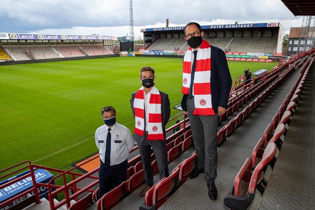 Kortrijk wil met bijna 3.000 fans spelen tegen Mouscron