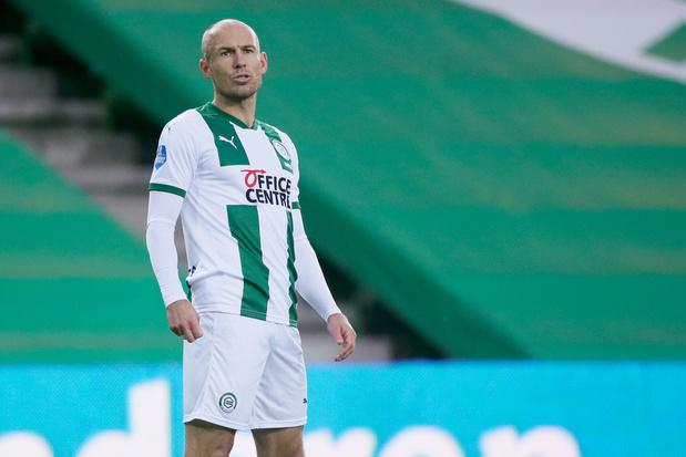 Zit comeback Arjen Robben er binnenkort alweer op? 'Het gaat niet goed'