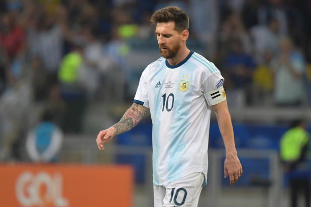 Lionel Messi mag drie maanden niet voor Argentinië spelen