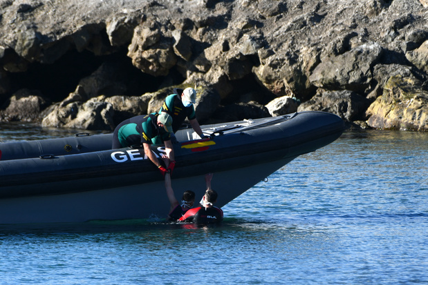 Migration: record d'arrivées en une journée à Ceuta en Espagne depuis le Maroc