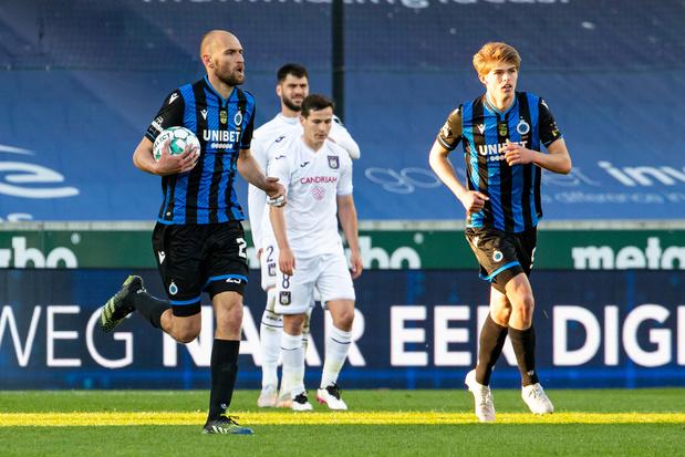 Spectaculaire Club Brugge - Anderlecht eindigt op 2-2
