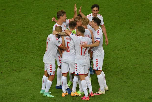 EURO 2021: le Danemark se joue de la République tchèque et rejoint le dernier carré