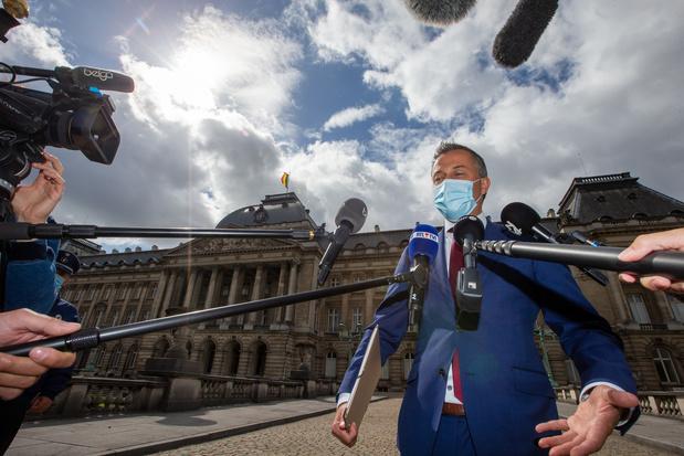 Le préformateur Egbert Lachaert testé positif au coronavirus: la formation fédérale est décidément dantesque