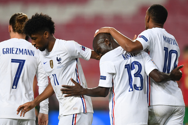 """Ligue des nations: la France s'impose au Portugal et se qualifie pour le """"Final-4"""""""