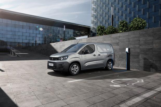 Peugeot lanceert elektrisch aangedreven e-Partner