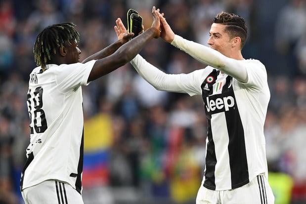 Pour faire revenir Ronaldo, Manchester United a payé 15 millions d'euros à la Juve qui retrouve Moise Kean
