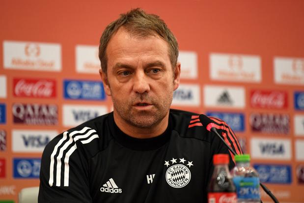 Bayerncoach Flick (nog) niet geïnteresseerd in Mannschaft: 'Ik wil hier nog prijzen pakken'