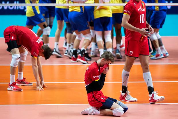 Euro de volley: Nouvelle défaite pour les Red Dragons qui n'ont plus leur sort entre les mains