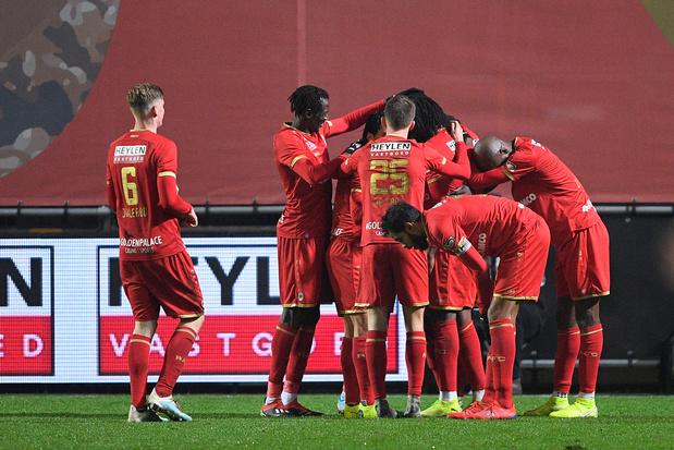 Croky Cup: l'Antwerp bat Genk aux tirs au but après un match haletant et se hisse en quarts