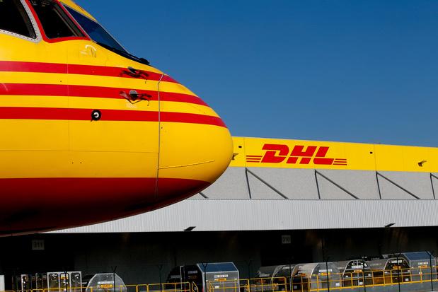 Assailli de colis, le centre de tri de DHL à Brussels Airport déjà presque à saturation