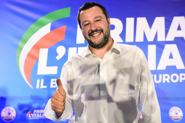 Européennes: Salvini renforce son emprise sur l'Italie