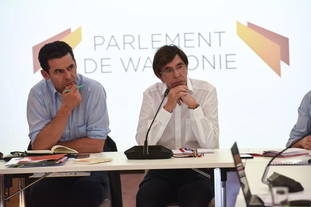En coulisses, PS et Ecolo finalisent la note qu'ils présenteront aux parlementaires