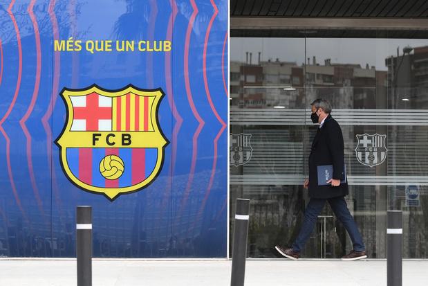 Entendu par la police, Josep Bartomeu, ex-président du Barça, libéré à titre provisoire