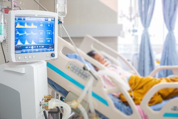 Moyenne de 145 admissions à l'hôpital par jour pour la Covid-19