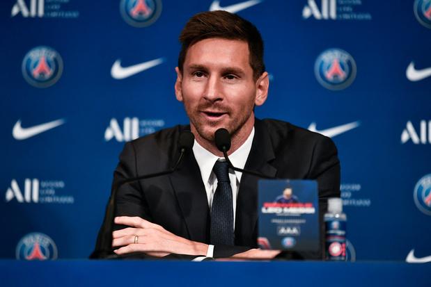 Messi wil bij PSG schitteren: 'Droom ervan opnieuw Champions League te winnen'
