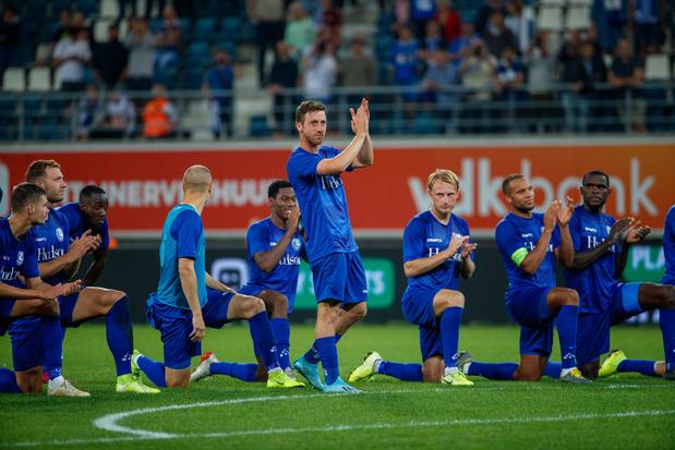 Europa League: Gent haalt krappe zege tegen stug Rijeka, Antwerp speelt gelijk bij AZ