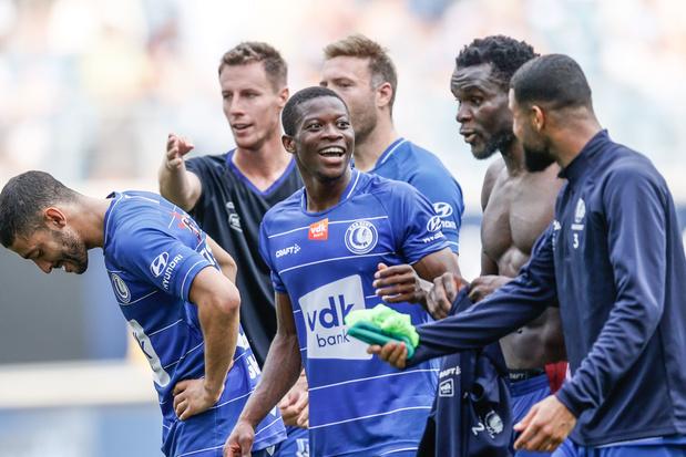 KAA Gent pakt eerste seizoenszege na 2-0 tegen KV Mechelen
