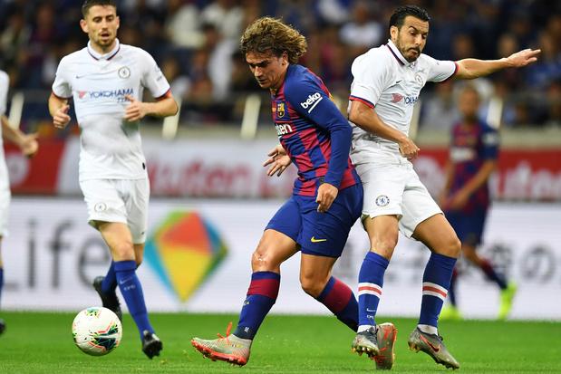 Chelsea ruine la première de Griezmann avec le Barça