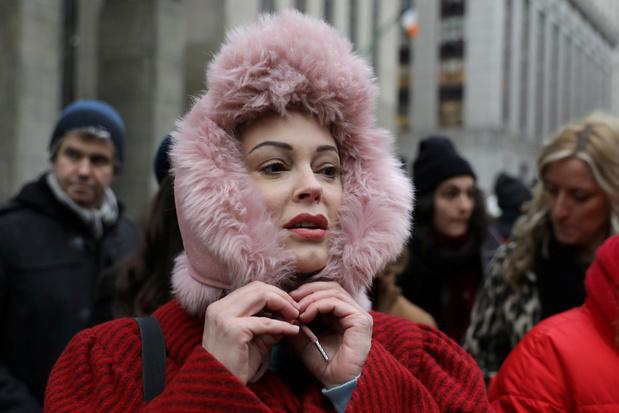 """Rose McGowan fustige la """"comédie"""" féministe de Natalie Portman aux Oscars"""