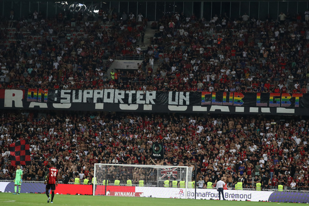 Nice-Marseille interrompu après des banderoles homophobes