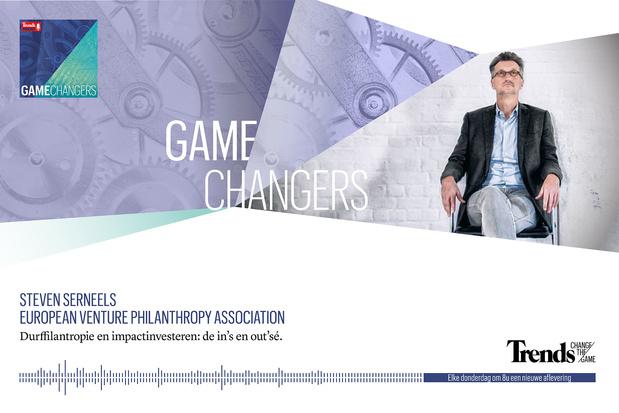 Trends Podcast met Steven Serneels over de in's en out's van durffilantropie en impactinvesteren
