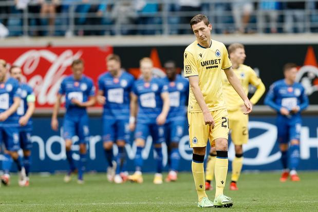 Pro League: quand Bruges se croit trop beau