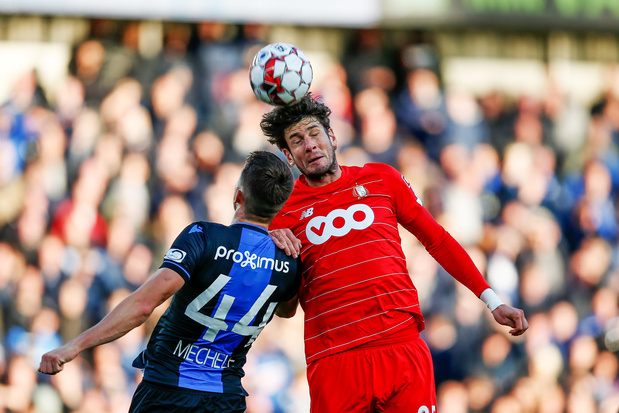 Club Brugge en Standard delen de punten in topper: 1-1