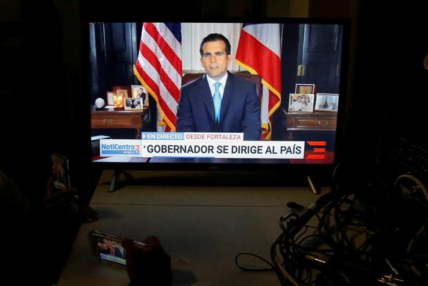 Le gouverneur de Porto Rico annonce sa prochaine démission