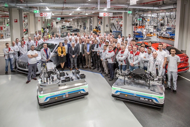"""Audi Brussels is """"Factory of the future"""""""