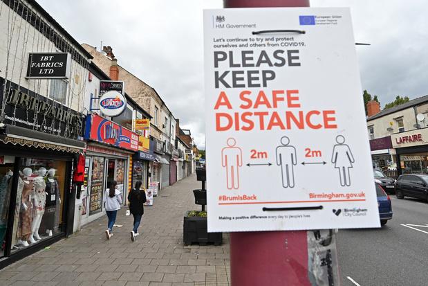 Angleterre: 1 personne sur 8 a eu le Covid-19