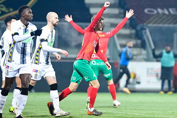 Charleroi perd à Ostende et commence mal 2021
