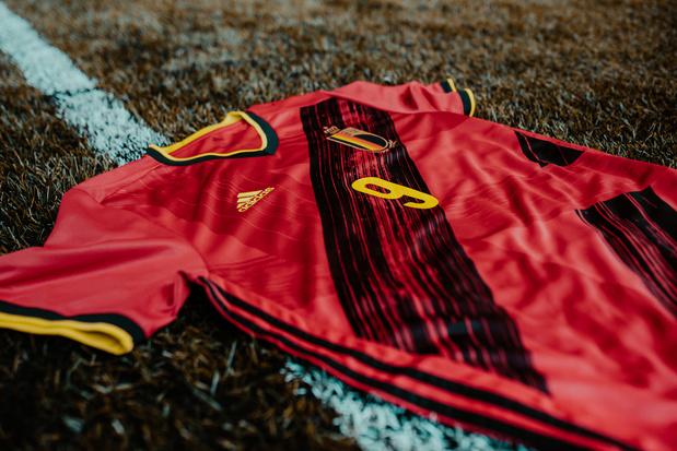 Le nouveau maillot des Diables Rouges dévoilé (photos)