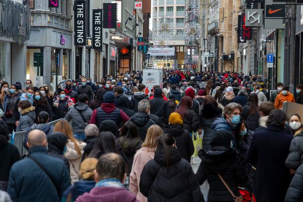 A Bruxelles, trois personnes sur quatre sont d'origine étrangère (infographies)