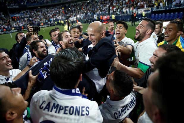 Ce jour-là: le Real retrouve le sommet de l'Espagne