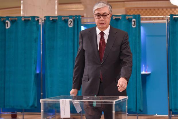 Tokajev wint presidentsverkiezingen Kazachstan met 70,8 procent van de stemmen