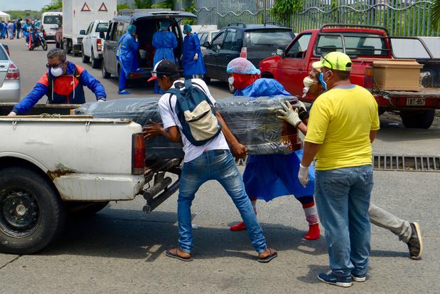 Steun Guayaquil, het Wuhan van Latijns-Amerika